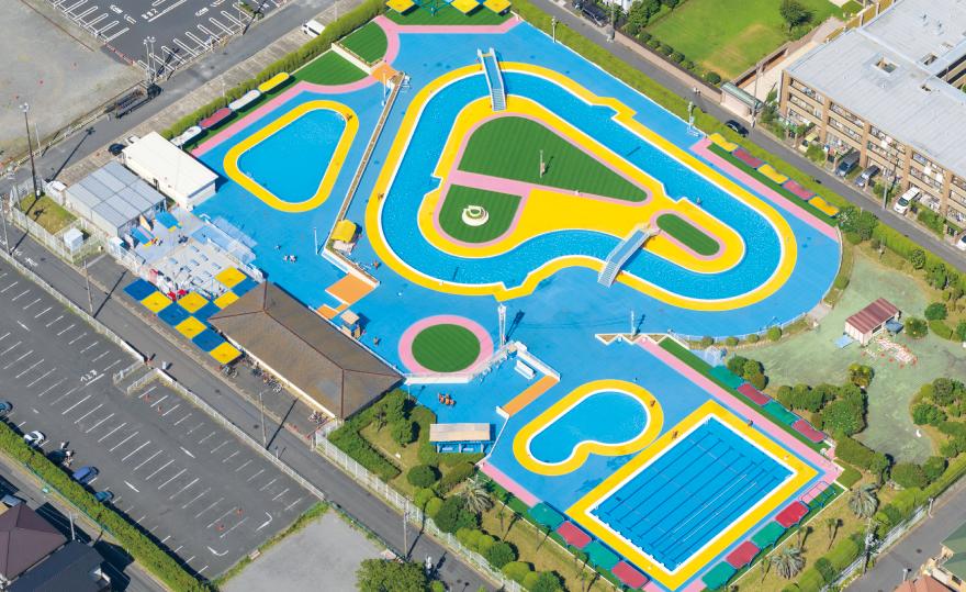 東野プール(浦安の流れるプール)